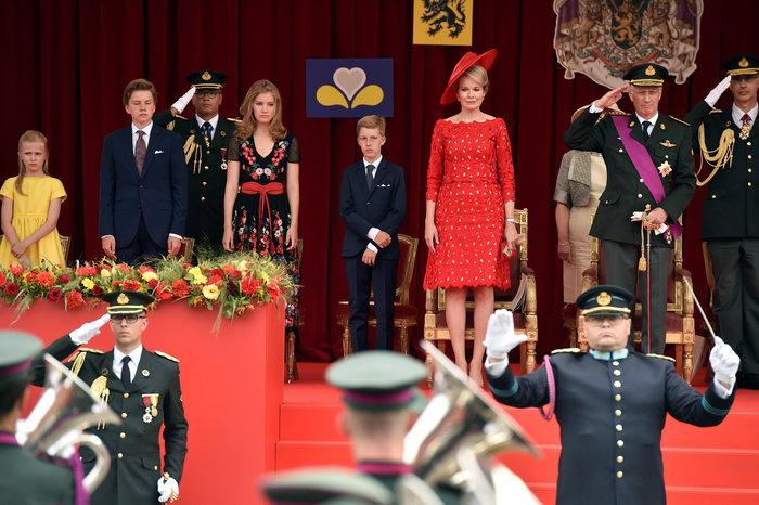 Royal Chic: Η όχι τυχαία εμφάνιση της βασιλικής οικογένειας του Βελγίου - εικόνα 2