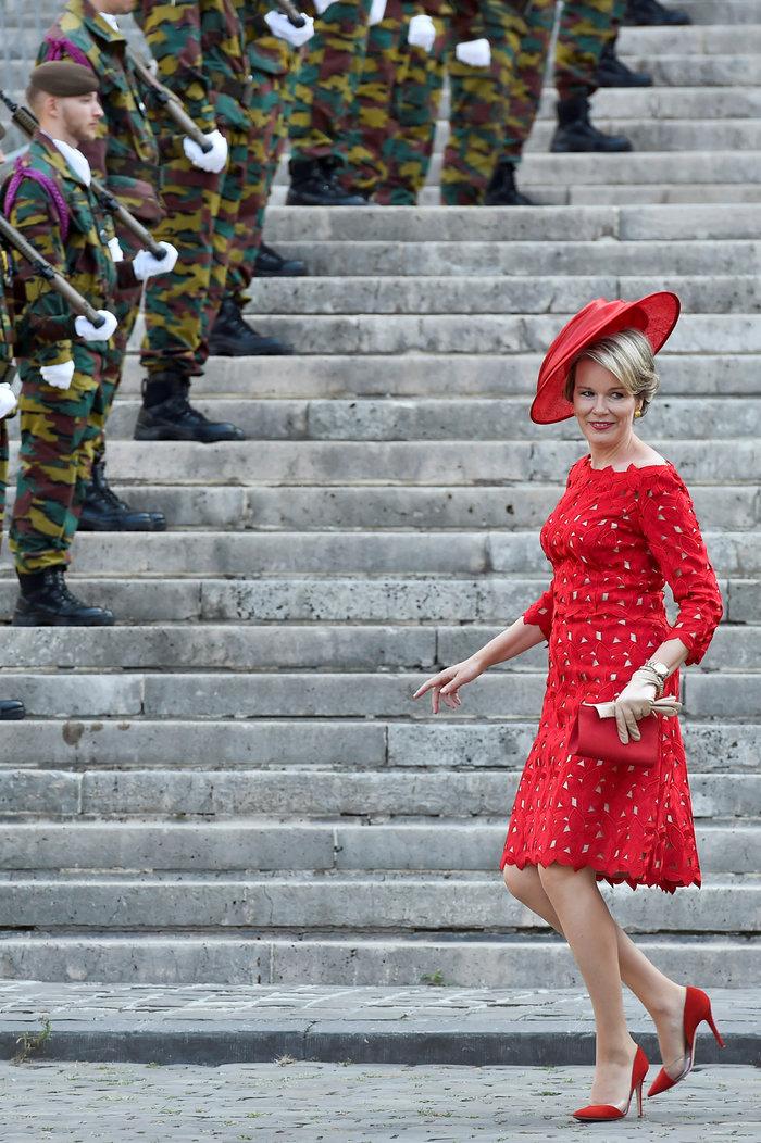 Royal Chic: Η όχι τυχαία εμφάνιση της βασιλικής οικογένειας του Βελγίου - εικόνα 7