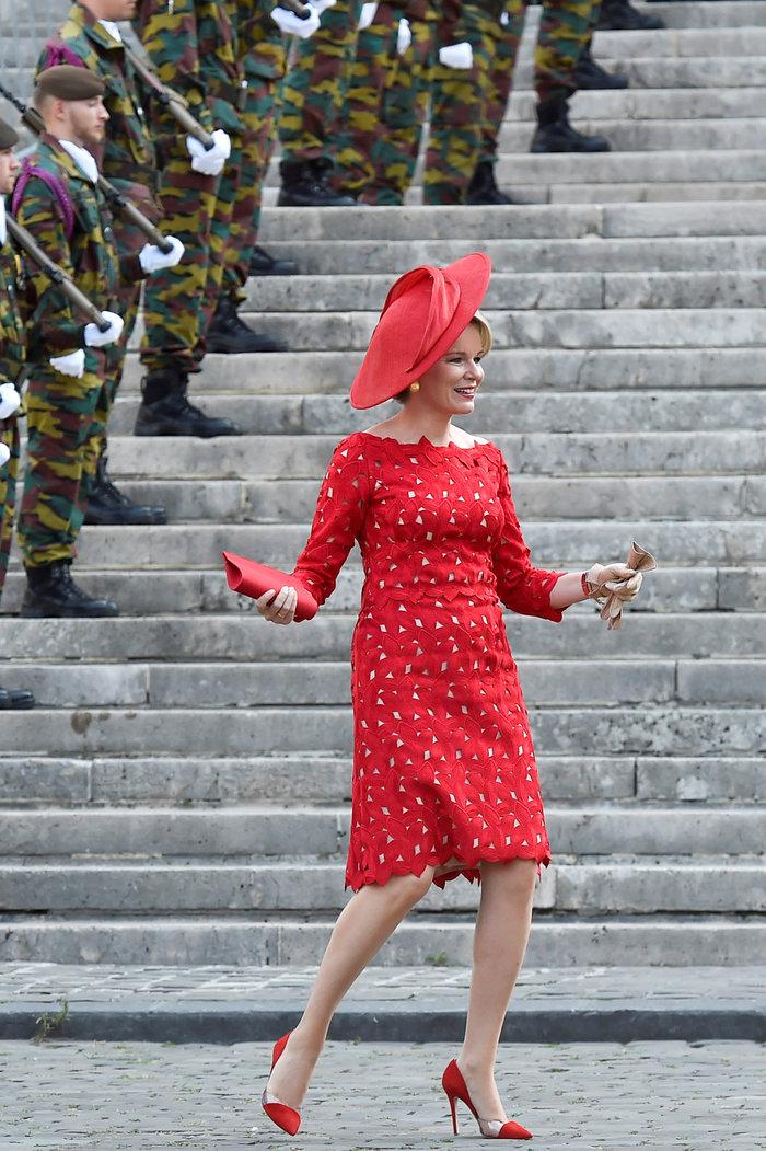 Royal Chic: Η όχι τυχαία εμφάνιση της βασιλικής οικογένειας του Βελγίου - εικόνα 8