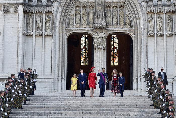 Royal Chic: Η όχι τυχαία εμφάνιση της βασιλικής οικογένειας του Βελγίου - εικόνα 10