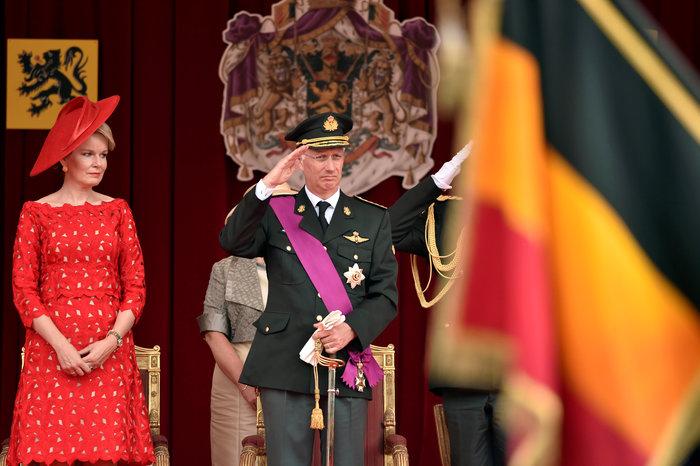 Royal Chic: Η όχι τυχαία εμφάνιση της βασιλικής οικογένειας του Βελγίου - εικόνα 12