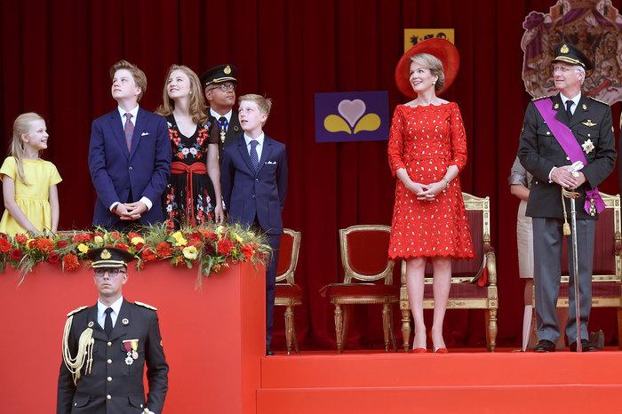 Royal Chic: Η όχι τυχαία εμφάνιση της βασιλικής οικογένειας του Βελγίου - εικόνα 13