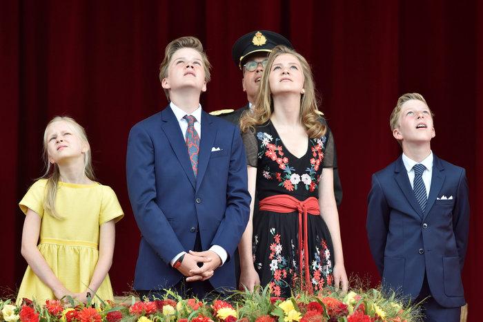 Royal Chic: Η όχι τυχαία εμφάνιση της βασιλικής οικογένειας του Βελγίου - εικόνα 5