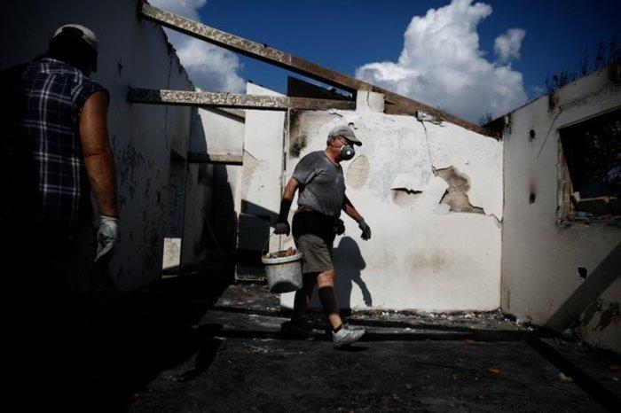Τραγωδία στο Μάτι: Η επόμενη ημέρα στις καμένες περιοχές - εικόνα 8