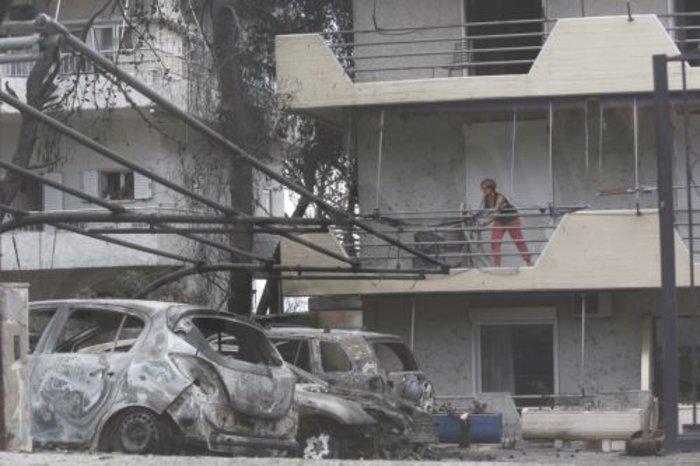 Τραγωδία στο Μάτι: Η επόμενη ημέρα στις καμένες περιοχές - εικόνα 7