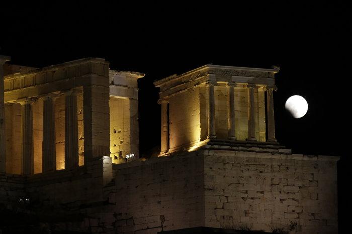 Το «ματωμένο φεγγάρι» από τον ουρανό της Ελλάδας