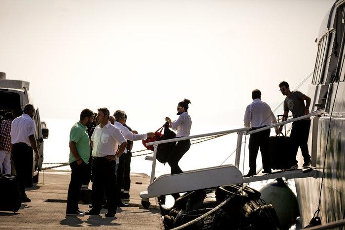Ραφήνα: Εκκενώθηκε το Flyingcat 4, προσέκρουσε στο λιμάνι - εικόνα 6