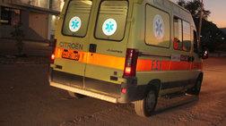 Μηχανή παρέσυρε αστυνομικό στην Πάτρα