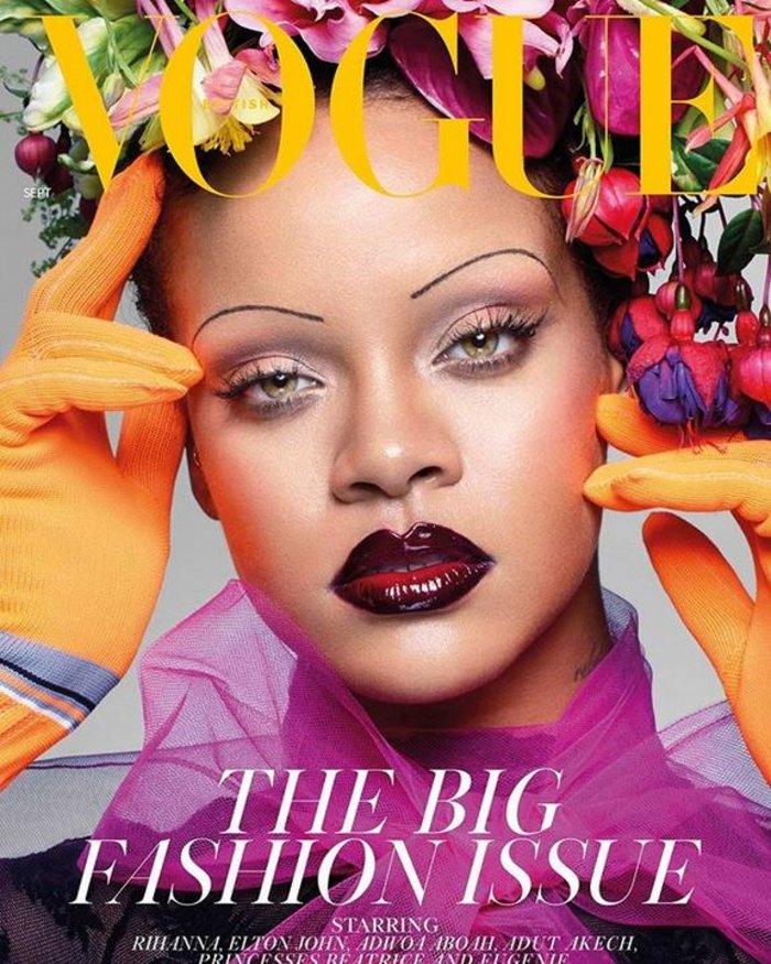 Απογοήτευση από το εξώφυλλο της Ριάνα στη Vogue: Τι της κάνατε; [Εικόνες]