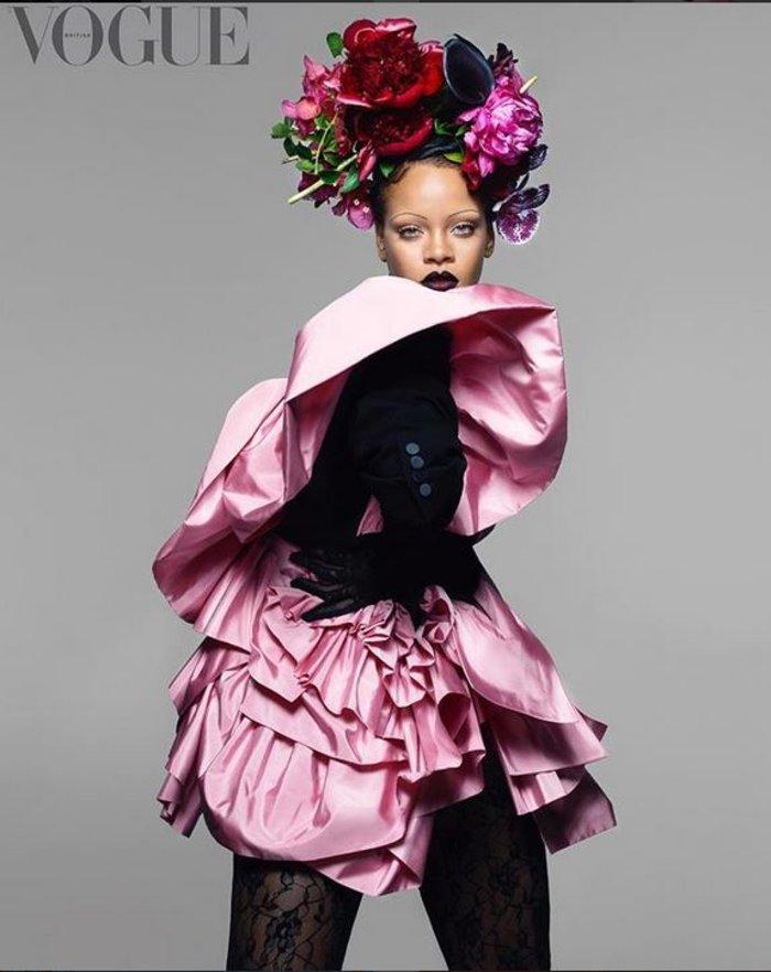 Απογοήτευση από το εξώφυλλο της Ριάνα στη Vogue: Τι της κάνατε; [Εικόνες] - εικόνα 2