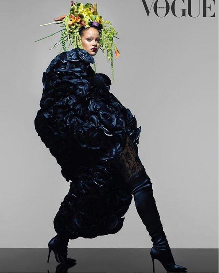 Απογοήτευση από το εξώφυλλο της Ριάνα στη Vogue: Τι της κάνατε; [Εικόνες] - εικόνα 3
