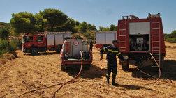 Πολύ υψηλός κίνδυνος πυρκαγιάς σε Β. Αιγαίο και Δωδεκάνησα