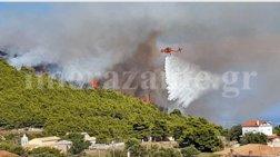 Δύο νέες πυρκαγιές στη Ζάκυνθο