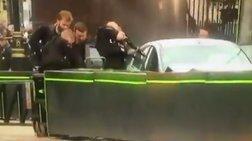 Ντοκουμέντο: Η στιγμή της σύλληψης του οδηγού στο Λονδίνο (βίντεο)