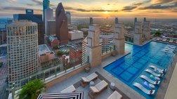 H εναέρια πισίνα σε ρετιρέ πύργου στο Τέξας: Θα τολμούσατε;