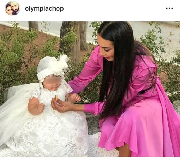 Χοψονίδου-Σπανούλης: Βάπτισαν «μυστικά» την μικρή τους κόρη [εικόνες] - εικόνα 2