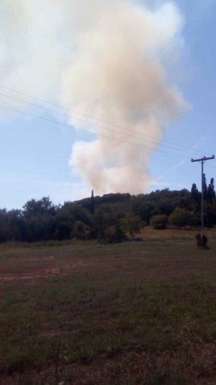 Σε ύφεση η φωτιά στους Ραχτάδες Κέρκυρας - Επέστρεψαν οι κάτοικοι - εικόνα 3