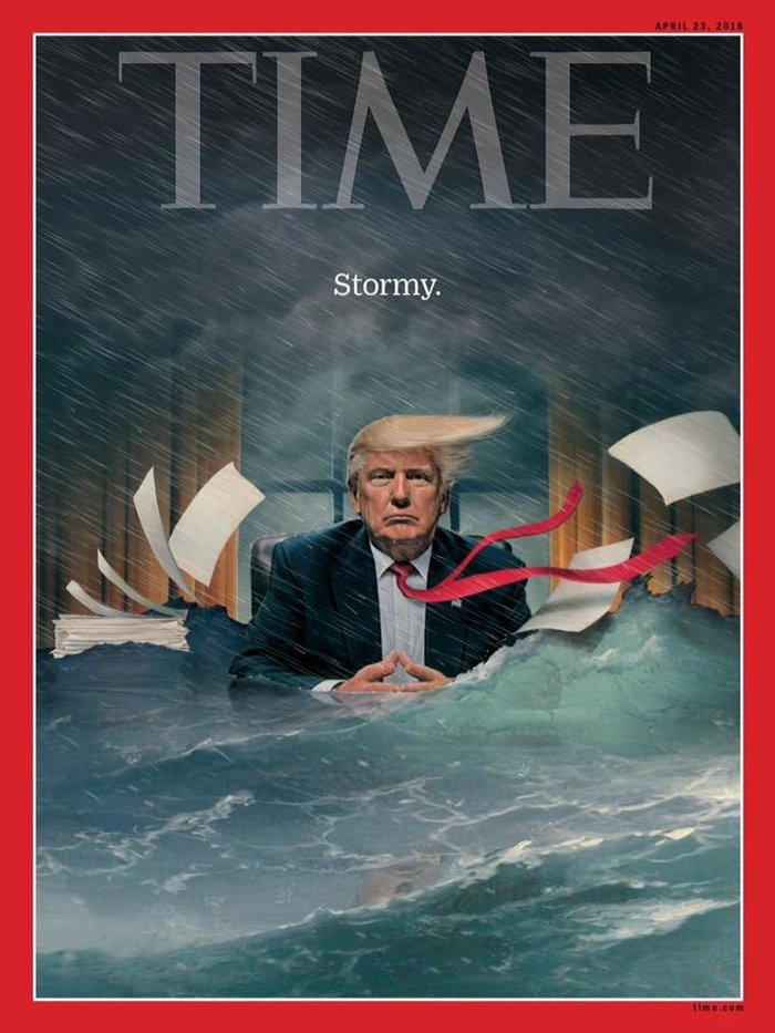 Το νέο εντυπωσιακό εξώφυλλο του Time για τον πρόεδρο Τραμπ - εικόνα 2