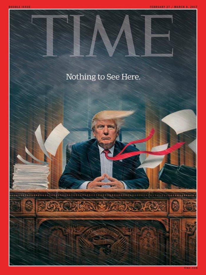 Το νέο εντυπωσιακό εξώφυλλο του Time για τον πρόεδρο Τραμπ - εικόνα 3