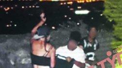 Φιλοπάππου: Η στιγμή που οι ληστές επιτίθενται σε τουρίστριες