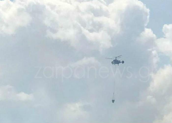 Xανιά: Μεγάλη φωτιά στον Αποκόρωνα κοντά σε σπίτια Εικόνες - Βίντεο - εικόνα 2