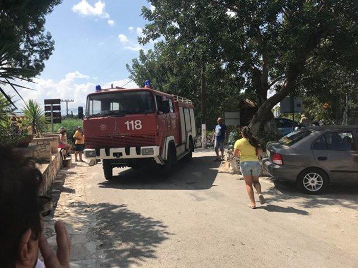 Xανιά: Μεγάλη φωτιά στον Αποκόρωνα κοντά σε σπίτια Εικόνες - Βίντεο