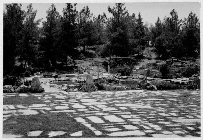 Δημήτρης Πικιώνης Παιδική χαρά Φιλοθέης, Γενική άποψη 1961 - 1965 ΑΝΑ_67_54_103 - Μουσείο Μπενάκη