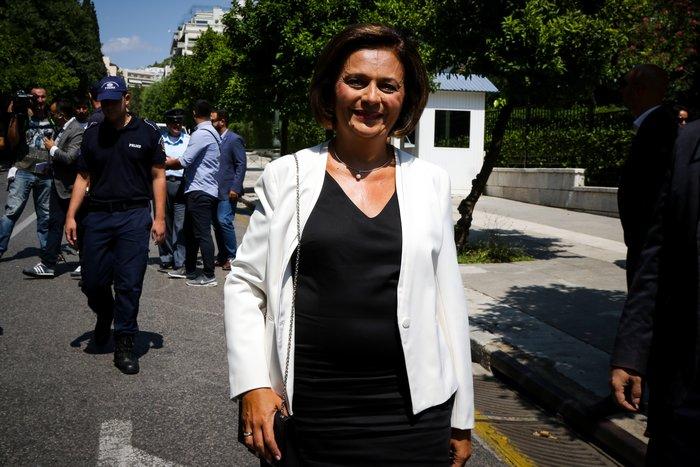 Ορκίστηκαν τα νέα μέλη της κυβέρνησης στο Προεδρικό Μέγαρο - εικόνα 12