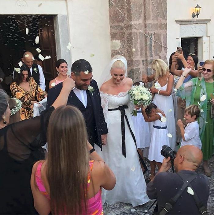 Παντρεύτηκε η Ελισάβετ Μουτάφη τον Μάνο Νιφλή