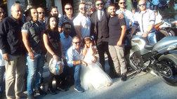 Κοζάνη: Η νύφη στην εκκλησία με μηχανές της... ομάδας ΔΙΑΣ