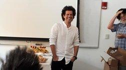 Κωνσταντίνος Δασκαλάκης: Τον υποδέχτηκαν στο ΜΙΤ ντυμένοι «Δασκαλάκης»