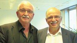Συνάντηση Παπαδημούλη με τον πρόεδρο των ευρωσοσιαλιστών ενόψει ευρωεκλογών