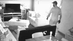 Καρέ-καρέ η εισβολή διαρρηκτών σε σπίτι στον Άλιμο