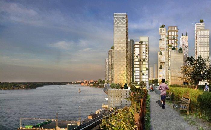 Οι πρώτοι ξύλινοι ουρανοξύστες μεταμορφώνουν τη Στοκχόλμη