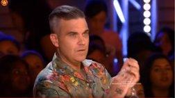 Η Ελληνίδα διαγωνιζόμενη που άφησε άφωνο τον Ρόμπι Γουίλιαμς [Βίντεο]