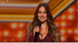 Αυτή είναι η 24χρονη ελληνίδα που μάγεψε το βρετανικό X-factor (Βίντεο)
