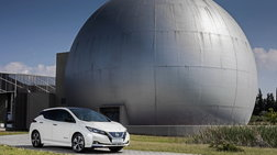 Το νέο Nissan LEAF ηλεκτρίζει την 83η Διεθνή Εκθεση Θεσσαλονίκης