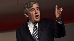 Γκόρντον Μπράουν: «O κόσμος υπνοβατεί προς μια νέα οικονομική κρίση»
