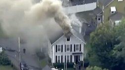 Διαρροή αερίου στη Βοστόνη: Νεκρός και 12 τραυματίες, εκρήξεις σε σπίτια