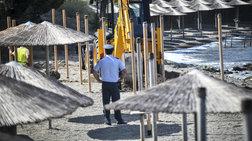 Κατεδαφίζουν αυθαίρετες εγκαταστάσεις ξενοδοχείου στην Ανάβυσσο (φωτό)