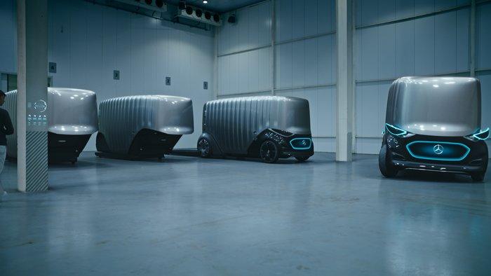 Στην πόλη του μέλλοντος με το Vision URBANETIC της Mercedes - εικόνα 3