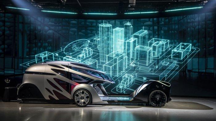Στην πόλη του μέλλοντος με το Vision URBANETIC της Mercedes - εικόνα 4