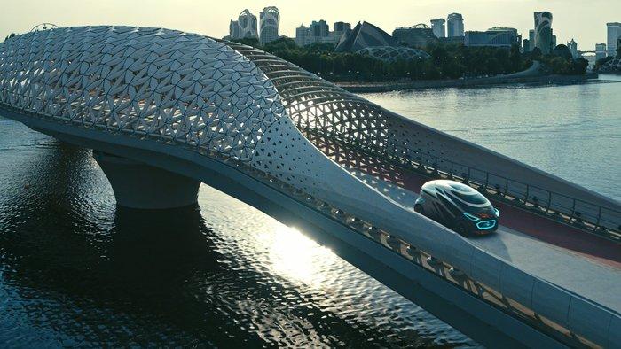 Στην πόλη του μέλλοντος με το Vision URBANETIC της Mercedes - εικόνα 5