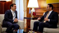 Τι συμφώνησε ο Τσίπρας με τον αναπληρωτή πρωθυπουργό του Κατάρ