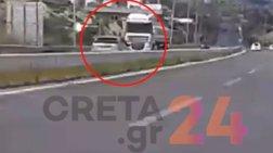 Κρήτη:Βρήκαν τον οδηγό που πήγαινε στο αντίθετο ρεύμα της Εθνικής για 3 χλμ