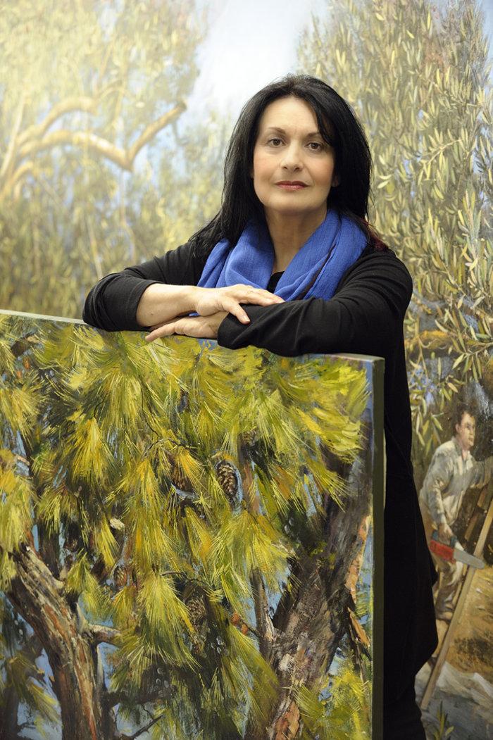 Μ.Κτιστοπούλου για τη νέα της έκθεση στη Ρόδο:Φυτεύω ζωγραφική να ριζώσει