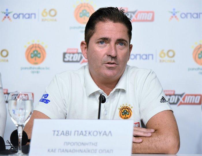 Τσάβι Πασκουάλ – Προπονητής ΚΑΕ Παναθηναϊκός ΟΠΑΠ