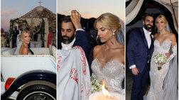 Μαντώ Γαστεράτου: Το άλμπουμ του γάμου και το νυφικό με τα 40.000 Swarovski