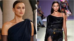 «Θεά» στην πασαρέλα η Ιρίνα Σάικ - Έλαμψε στην εβδομάδα μόδας [Εικόνες]