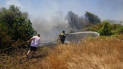 Υπό μερικό έλεγχο οι φωτιές σε δυτική Αχαΐα και Καλλιθέα Πάτρας